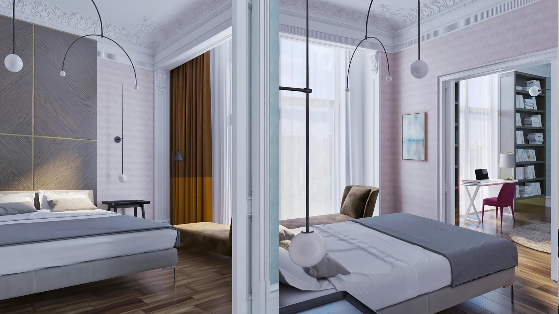 Интерьер спальни, фото 3