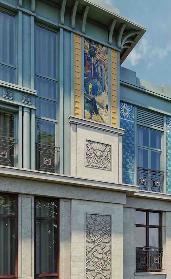 жилой комплекс «Дом Бакст»